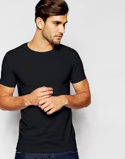 Asos - Muscle Stretch Crew Neck T-Shirt