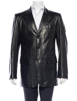 Saint Lauren - Yves Leather Jacket