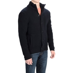 Barbour Harvey - Lambswool Cardigan Sweater