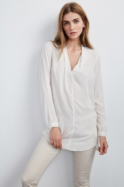 Velvet by Graham & Spencer - Sarafina Challis Tunic Blouse