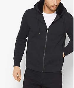 Michael Kors - Fur-Lined Zip-Up Hoodie