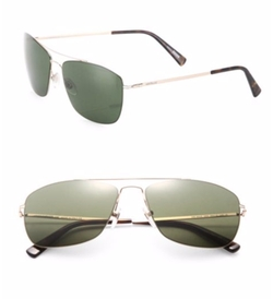 Montblanc - Thin Frame Metal Sunglasses