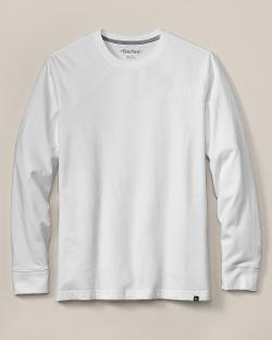 Eddie Bauer - Slim Fit Long-Sleeve Legend Wash T-Shirt