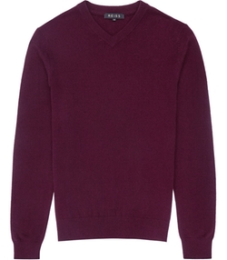 Castleford  - Cashmere V Neck Jumper