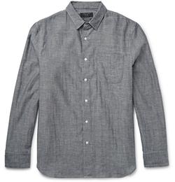 Rag & Bone - Beach Cotton-Chambray Shirt