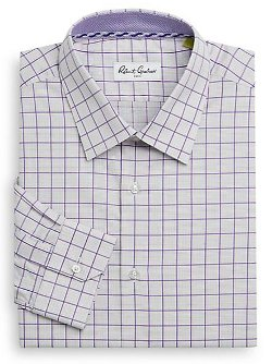 Robert Graham  - Regular-Fit Grid Dress Shirt