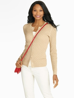 Talbots - Cable Charming Cardigan