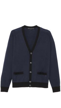 Marc by Marc Jacobs  - Silk Cardigan