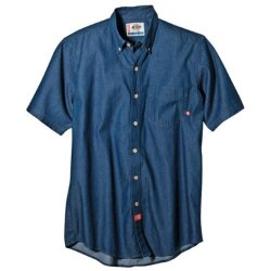 Dickies - Short-Sleeve Denim Work Shirt