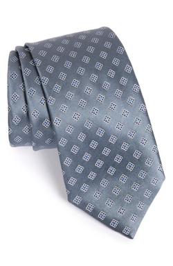 Ermenegildo Zegna  - Geometric Silk Tie