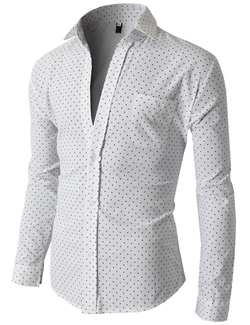 H2H - Polka Dots Button-Down Shirt
