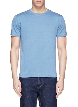 Isaia - Cotton-Silk T-Shirt