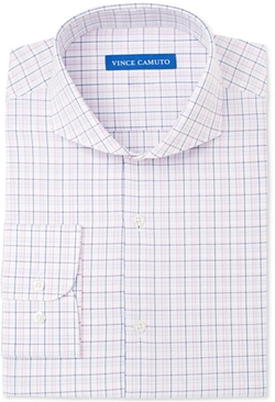 Vince Camuto - Slim-Fit Check Dress Shirt