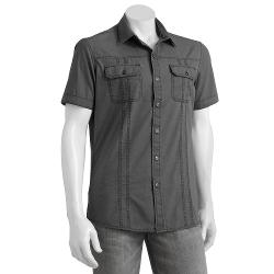 Rock & Republic  - Solid Woven Casual Button-Down Shirt - Men