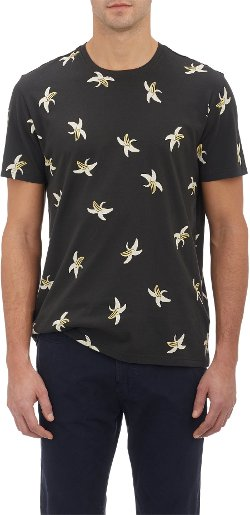 Paul Smith Jeans  - Banana Print Short Sleeve Shirt