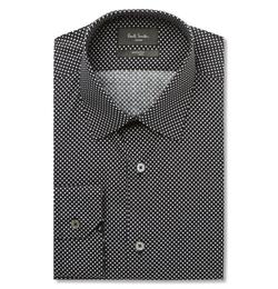 Paul Smith London - Soho Slim-Fit Star-Print Cotton Shirt