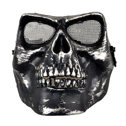 Neewer - Airsoft Death Skull Safety Mask