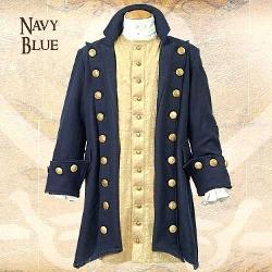 Museum Replicas - Buccaneer Wool Pirate Coat