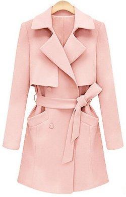 Umlife - Jacket Coat Trench Outwear