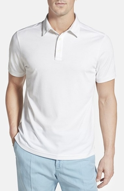John W. Nordstrom - Regular Fit Pima Cotton Blend Polo Shirt