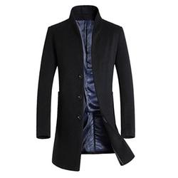 Egelbel - Woolen Single Breasted Overcoat