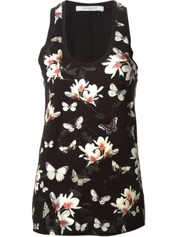 Givenchy  - Floral Print Tank Top