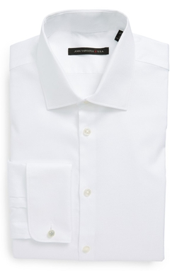 John Varvatos Star USA - Slim Fit French Cuff Dress Shirt