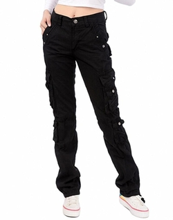Lixmee - Regular Cargo Pants