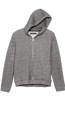 T by Alexander Wang  - Speckled French Terry Hoodie