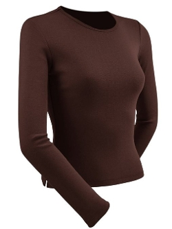 Kavio - Crew Neck Long Sleeve Top