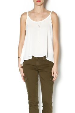 Vivo - Scoop Woven Tank Top