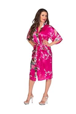 Get Unrobed - Satin Kimono Robe