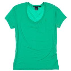 Ralph Lauren  - Womens Loose Fit Scoop Neck Tee