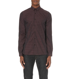 The Kooples - Slim-Fit Checked Cotton Shirt