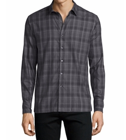 Ovadia & Sons  - Plaid Woven Sport Shirt