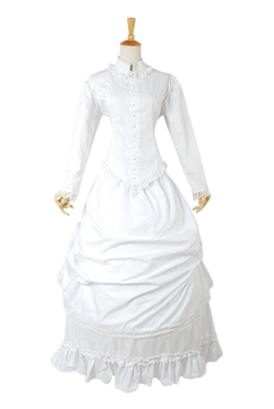Ava Lolita - Stand Collar Lace Lolita Dress