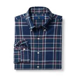 Ralph Lauren - Plaid Cotton Oxford Shirt