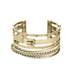 Michael Kors - Frozen Gold-Tone Cuff Bangle