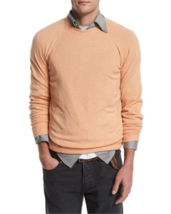 Brunello Cucinelli  - Cashmere-Blend Crewneck Sweater