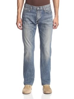 Big Star Union - Faded Regular Straight Leg Jeans
