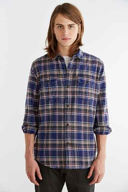 Salt Valley - Spring Flannel Button-Down Shirt