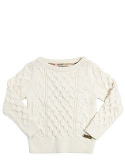Burberry  - Cotton & Cashmere Blend Sweater