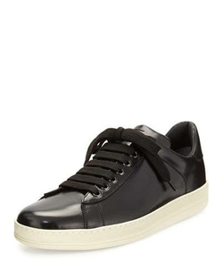 Tom Ford - Russell Low-Top Calfskin Sneakers
