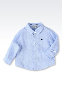 Armani Junior - Pure Linen Shirt