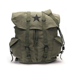 Olive Drab - Classic Army Style Backpack