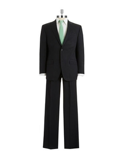 Sean John - Two Piece Pinstriped Suit Set