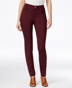 Style&Co. - Curvy-Fit Colored Wash Skinny Jeans