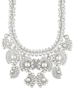 Givenchy - Faux Pearl Statement Necklace
