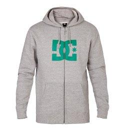 DC - Zip Up Hooded Screen Fleece Jacket