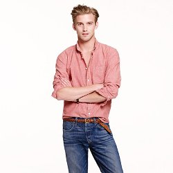 J.Crew - Slim Japanese Chambray Shirt